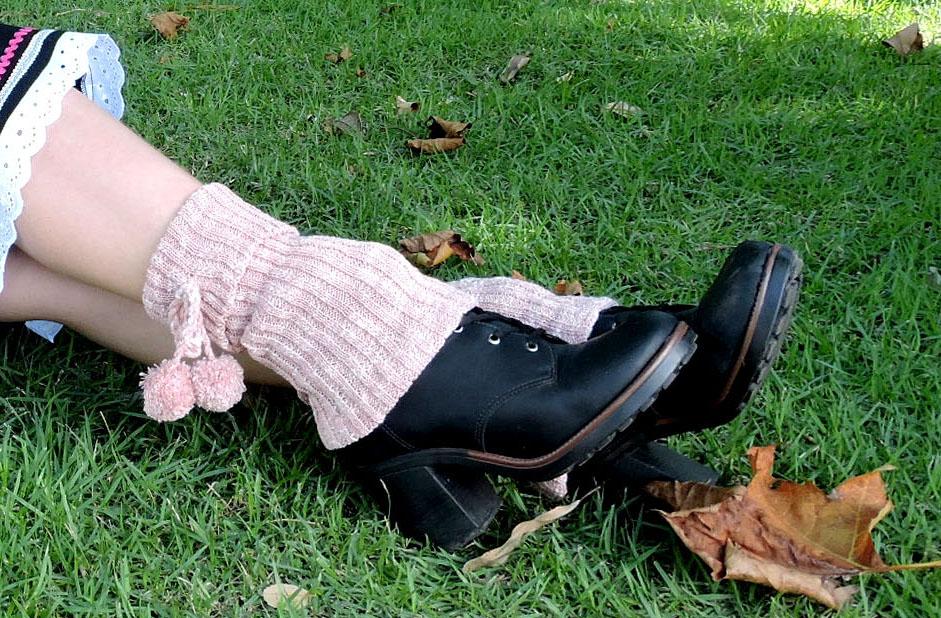 polaina de la traje tipico